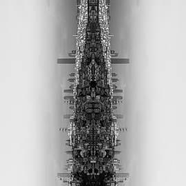 Burak Turkmen - Istanbul skyline mirror image