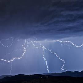 Zayne Diamond Flying Z Photography - It Started as A Dark Stormy Night in Boulder