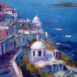 R W Goetting - Its a Santorini kind of mood