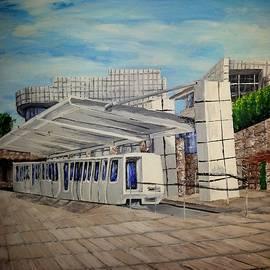 Irving Starr - J Paul Getty Center Tram