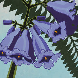 Susan Lishman - Jacaranda, the Sign of Spring