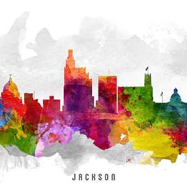 Aged Pixel - Jackson Mississippi Cityscape 13