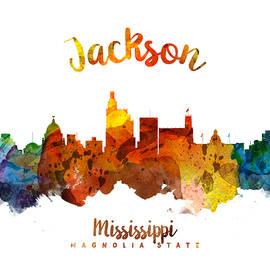Jackson Mississippi Skyline 26 - Aged Pixel
