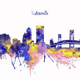 Marian Voicu - Jacksonville Skyline Silhouette