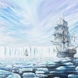 James Clark Ross discovers Antarctic Ice Shelf - Vincent Alexander Booth