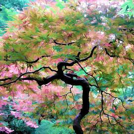 Athena Mckinzie - Japanese Maple Tree Painting