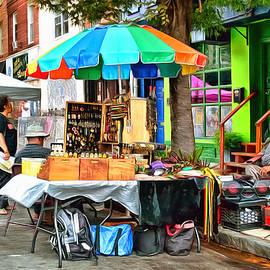 William Somogyi - Jazz Festival Vendor