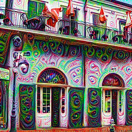 Bill Cannon - Jean Lafittes Old Absinthe House 1807 - New Orleans