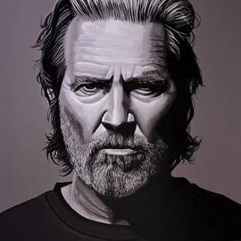Jeff Bridges Painting - Paul Meijering
