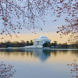 Bill Cannon - Jefferson Memorial in Spring