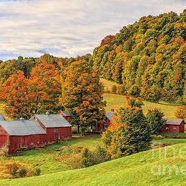 Jenne Farm Vermont Landscape Autumn - Edward Fielding