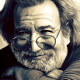 Sheraz A - Jerry Garcia Artwork