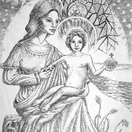 Gerald Ziolkowski - Jesus and Mary