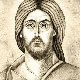 Joanna Cieslinska - Jesus Christ Pantokrator