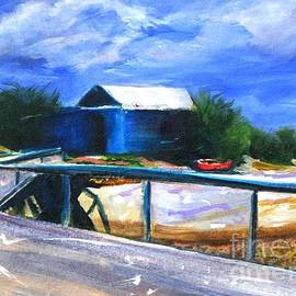 Therese Alcorn - Jetty and Boatshed