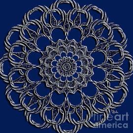 Giada Rossi - Jewellery design - Silverblue mandala by RGiada