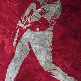 JOEY VOTTO CINCINNATI REDS ART - Joe Hamilton