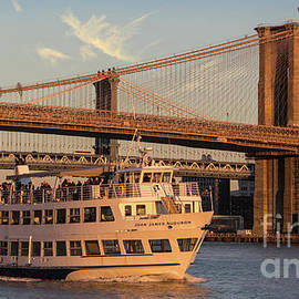 Jerry Fornarotto - John James Audubon passing Brooklyn Bridge