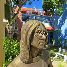 John Malone - John Lennon Statue Closeup