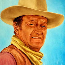 Georgia Doyle  brushhandle - John Wayne