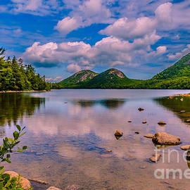 Claudia Mottram - Jordan pond - Acadia National Park