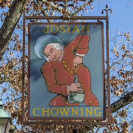 Teresa Mucha - Josiah Chowning Sign