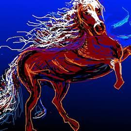 Anand Swaroop Manchiraju - Jumping Horse-2