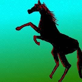 Anand Swaroop Manchiraju - Jumping Horse
