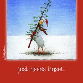 just needs tinsel... - Will Bullas