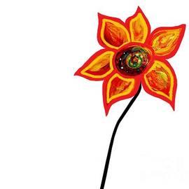 Eloise Schneider - Just One Abstract Flower