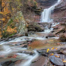 Bill Wakeley - Kaaterskill Falls Autumn Portrait