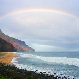 Kevin Smith - Kalalau Beach Rainbow