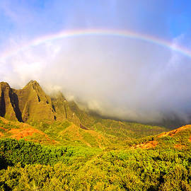 Kevin Smith - Kalalau Sunset Rainbow Kauai