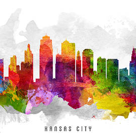 Aged Pixel - Kansas City Missouri Cityscape 13