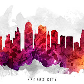Aged Pixel - Kansas City Missouri Cityscape 14