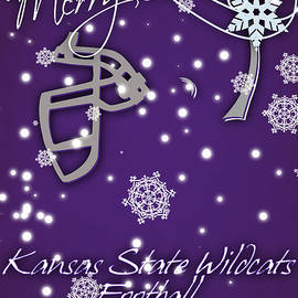 KANSAS STATE WILDCATS CHRISTMAS CARD - Joe Hamilton