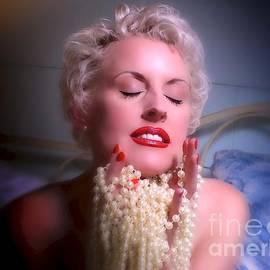 Alex Carpeaux - Karen With Pearls