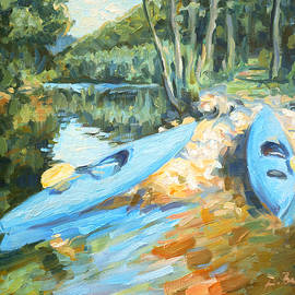 Dusan Balara - Kayak Trip on Ruzin Lake