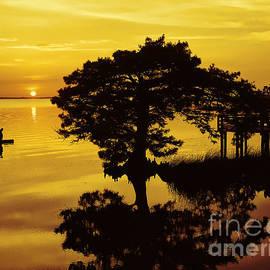 Jeff Breiman - Kayaking At Sunset 2 OBX