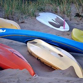 Kim Bemis - Beached Kayaks