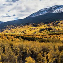 Jim Garrison - Kebler Pass Panorama #2