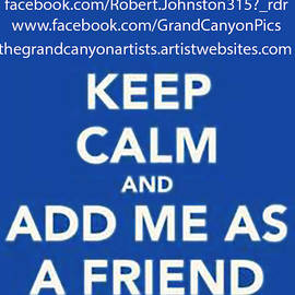 Bob and Nadine Johnston - Keep Calm Add Me as a Friend