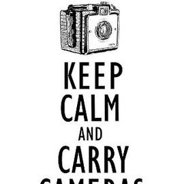 Keep Calm and Carry Cameras Phone Case - Edward Fielding
