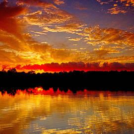 Geraldine Scull - Kennedy Park Sayreville NJ sunset