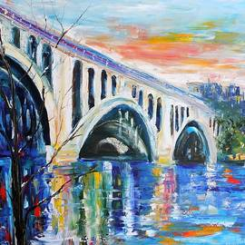 Karen Tarlton - Key Bridge Sunrise