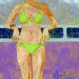 P J Lewis - Key Lime Bikini