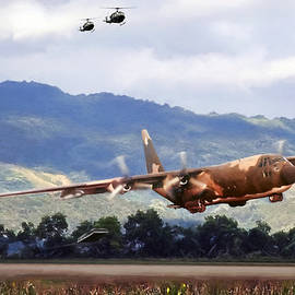 Khe Sanh LAPES C-130A - Peter Chilelli