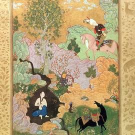 Khusrau Sees Shirin - Fine Art