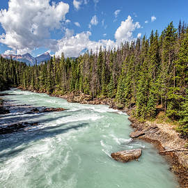 Joan Carroll - Kicking Horse River British Columbia