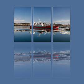 Martina Fagan - Killybegs Harbour Triptych